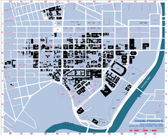 University of Pennsylvania Map