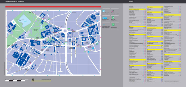 University of Sheffield Map - University of Sheffield Sheffield UK ...