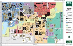 University of South Florida Tampa Campus Map