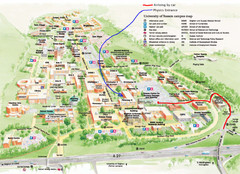 Whitworth University Campus Map.Real Life Map Collection Mappery