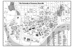 University of Tennessee Map