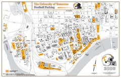 University of Tennessee Tourist Map
