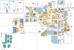 University of Texas Campus Map