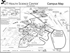 University of Texas Science Center Map