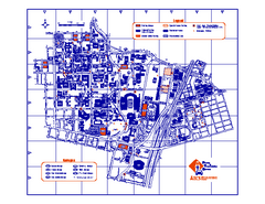 University of Texas at Austin Map
