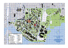 University of Washington - Seattle Campus Map