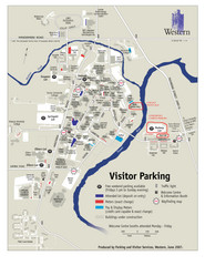 University of Western Ontario Map