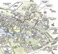 University of York Campus Map