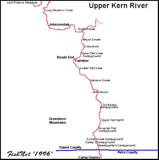 557 x for Kern river fishing spots