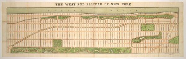Upper West Side NYC Map 1879 Upper West Side NYC mappery