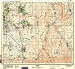 Ura Tube Region Topo Map