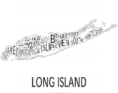 Urban Neighborhood Map: Long Island Map