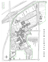 Utah Valley State University Map