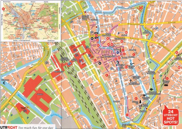 Amersfoort Map amersfoort mappery