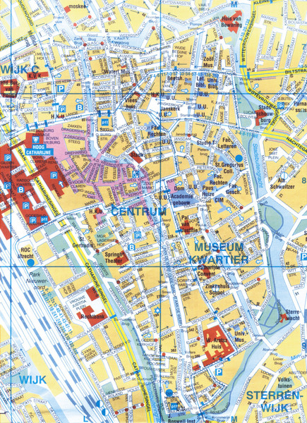 Utrecht Netherlands  city photo : Utrecht Netherlands Tourist Map Utrecht • mappery