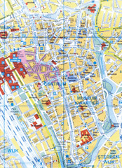 Utrecht, Netherlands Tourist Map