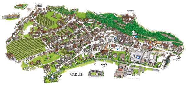 Vaduz Map | Maps