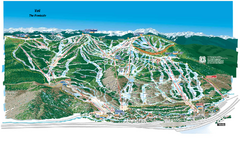Vail Ski Trail Map