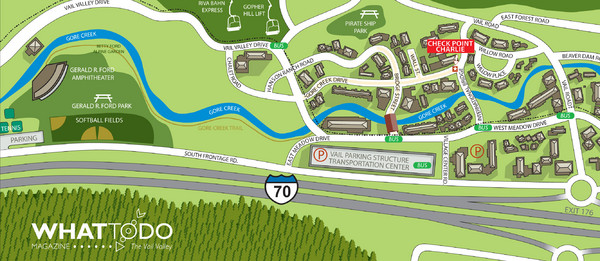 Vail Village Map - Vail Village CO • mappery