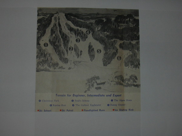 Val Chatel Ski Trail Map