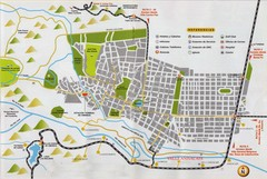 Valle Anizacate Tourist Map