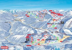 Vallnord Piste Map