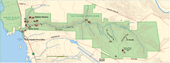 Van Damme State Park Map