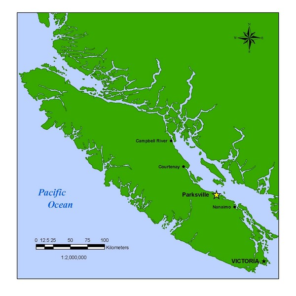 Vancouver Island Overview Map