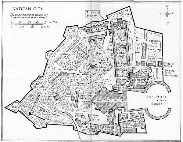 Vatican City Map - Vatican City • mappery