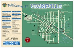 Vegreville Tourist Map