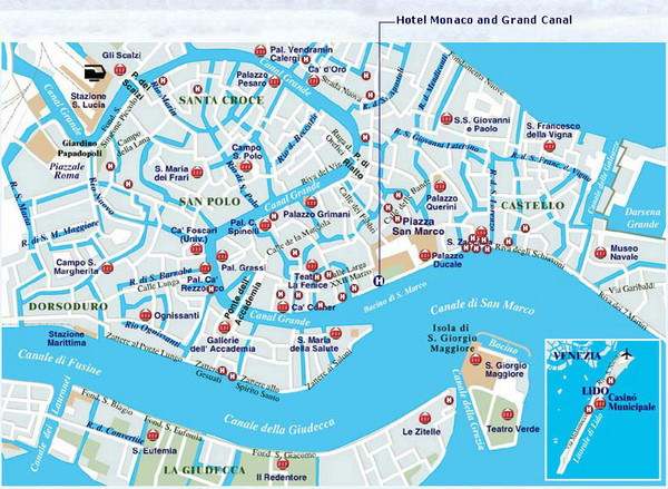 Venice Street Map Venice Italy mappery – Venice Map Tourist
