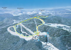 Ventron Ski Trail Map