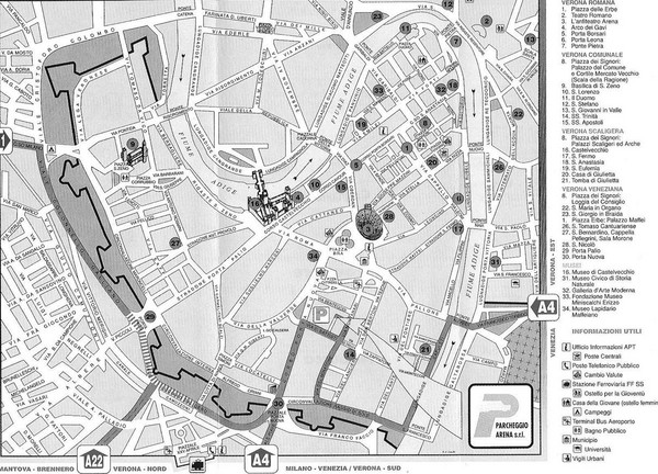 verona tourism map - photo#28