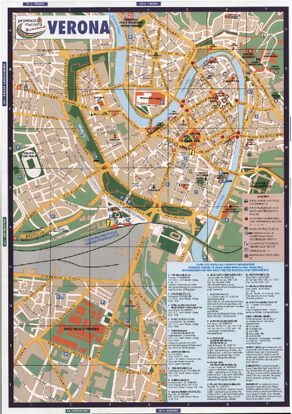verona tourism map - photo#2
