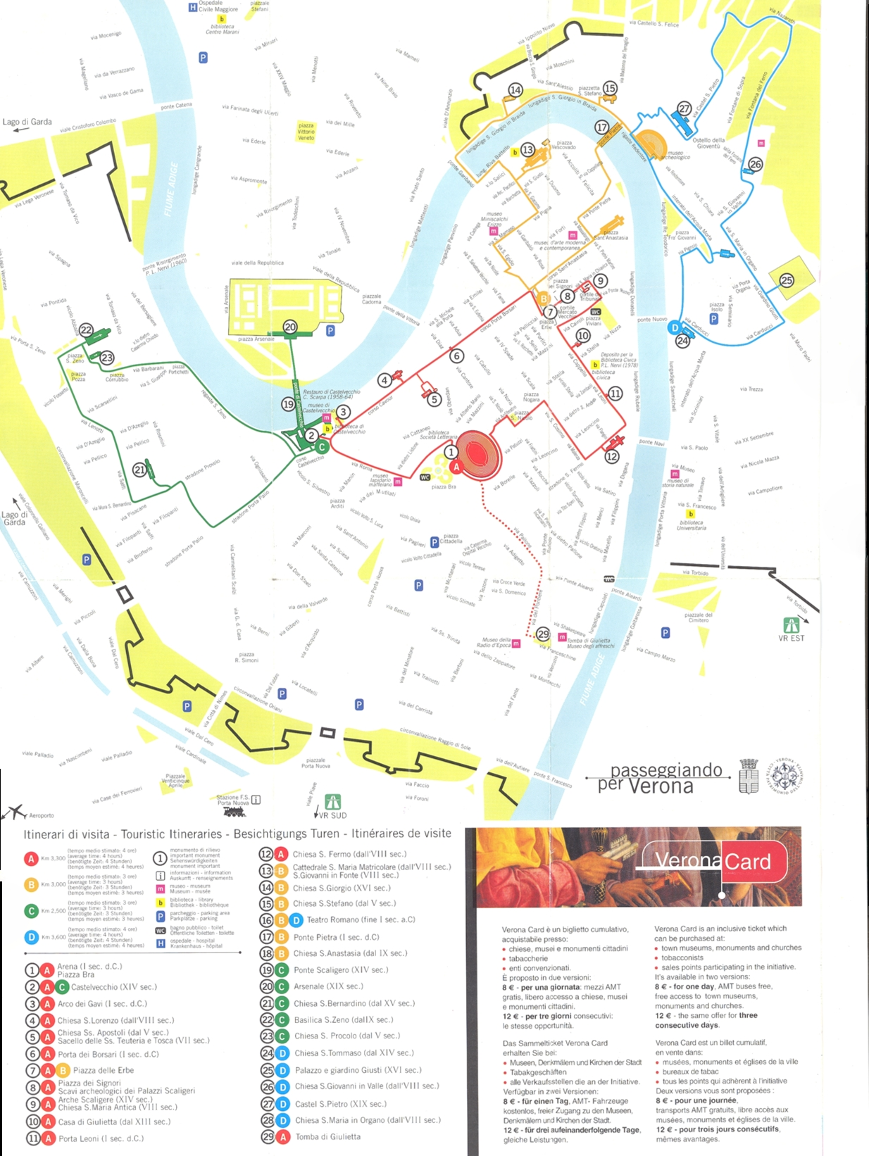 verona tourism map - photo#25