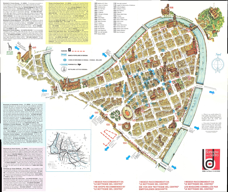 Verona Centro Map Verona It Mappery