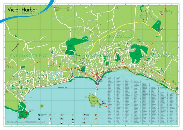 Victor Harbor Map