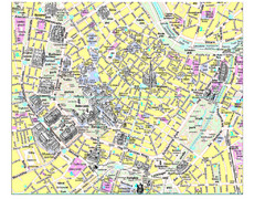 Vienna City Tourist Map