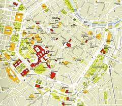 Vienna centre Map