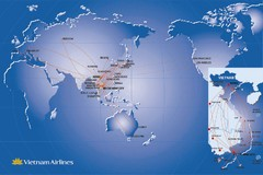 Vietnam Airlines Map