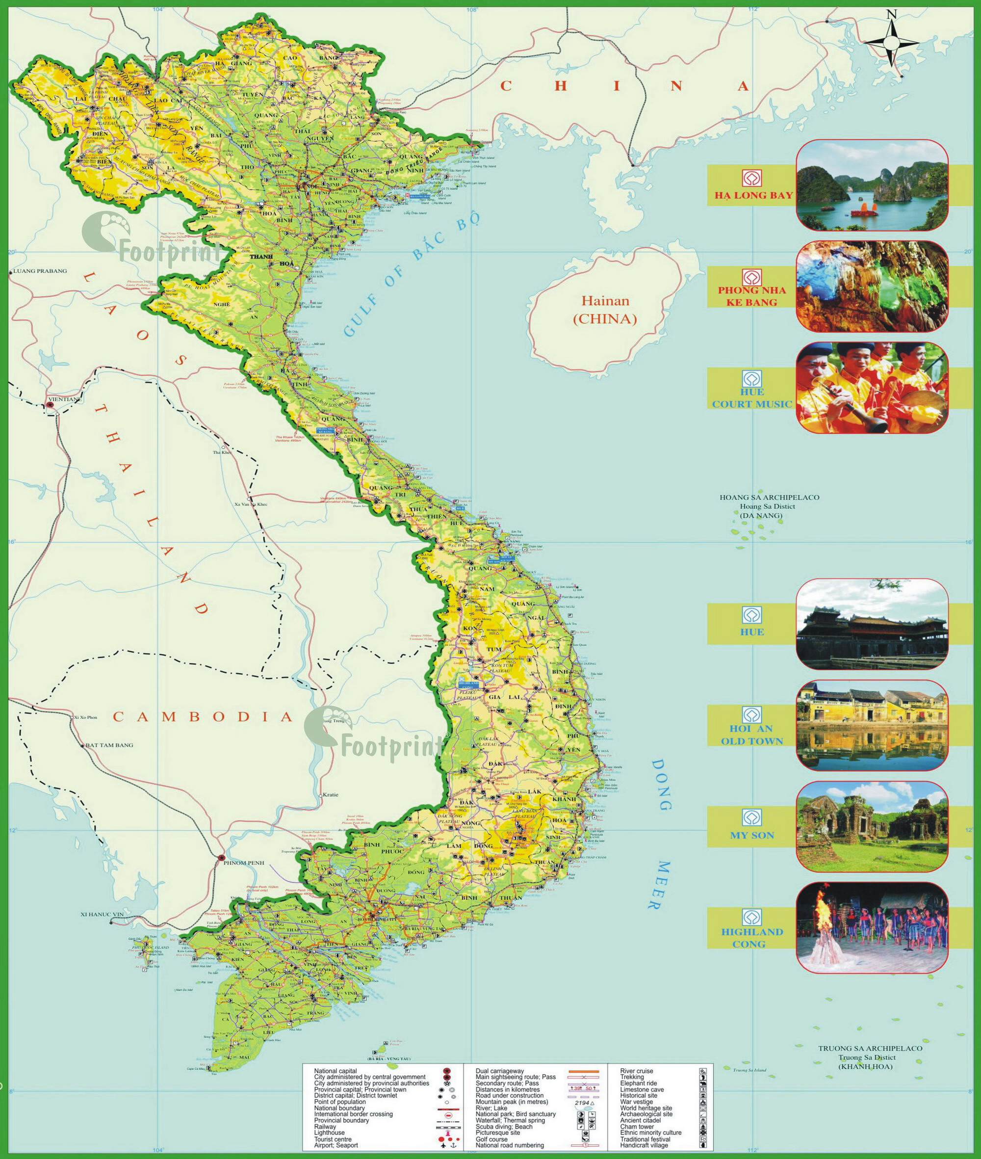 Vietnam Map Vietnam mappery