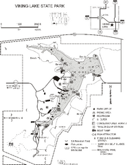 Viking Lake State Park Map