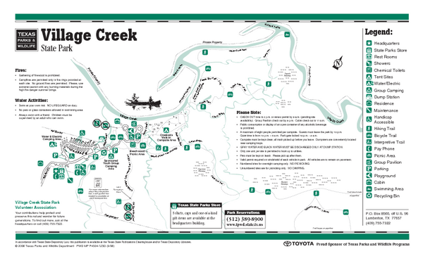 village creek state park