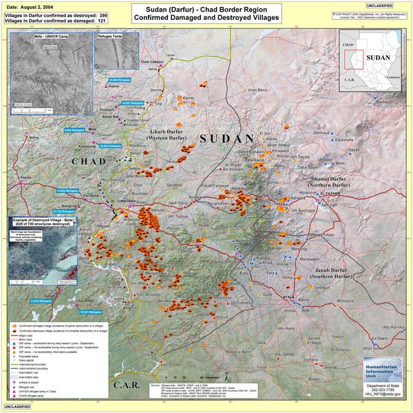 Villages Destro in Darfur Sudan Map - Darfur Sudan • mappery on