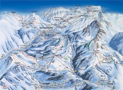 Villars-Gryon Ski Trail Map