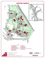 Virginia Tech Map
