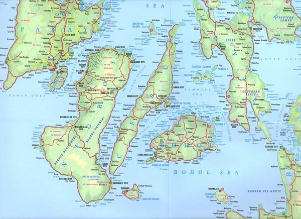 Map Visayas