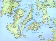 Visayas Islands Map