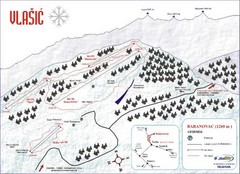 Vlasic Ski Trail Map