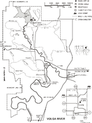 Volga River State Recreation Area Map